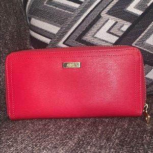 Red Ralph Lauren wallet .